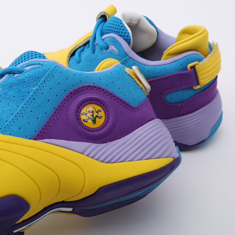 разноцветные  кроссовки reebok answer v mu FW7506 - цена, описание, фото 6