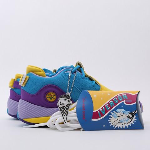 разноцветные  кроссовки reebok answer v mu FW7506 - цена, описание, фото 7
