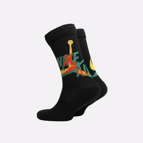 мужские чёрные  носки jordan legacy crew CU2956-011 - цена, описание, фото 2
