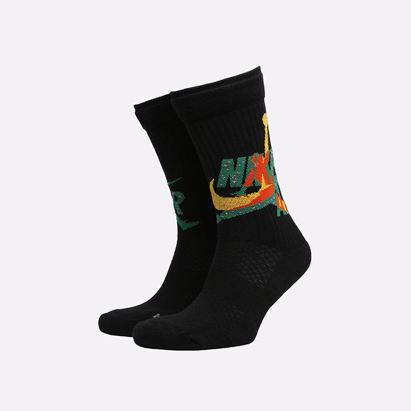 мужские чёрные  носки jordan legacy crew CU2956-011 - цена, описание, фото 1