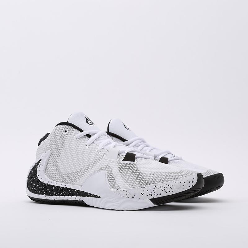 мужские белые  кроссовки nike zoom freak 1 BQ5422-101 - цена, описание, фото 2
