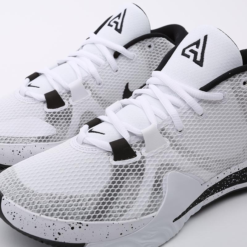 мужские белые  кроссовки nike zoom freak 1 BQ5422-101 - цена, описание, фото 6