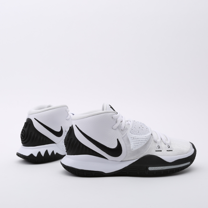 мужские белые  кроссовки nike kyrie 6 BQ4630-100 - цена, описание, фото 2