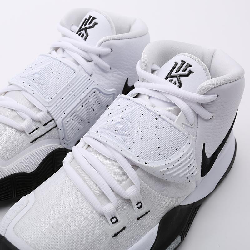 мужские белые  кроссовки nike kyrie 6 BQ4630-100 - цена, описание, фото 6
