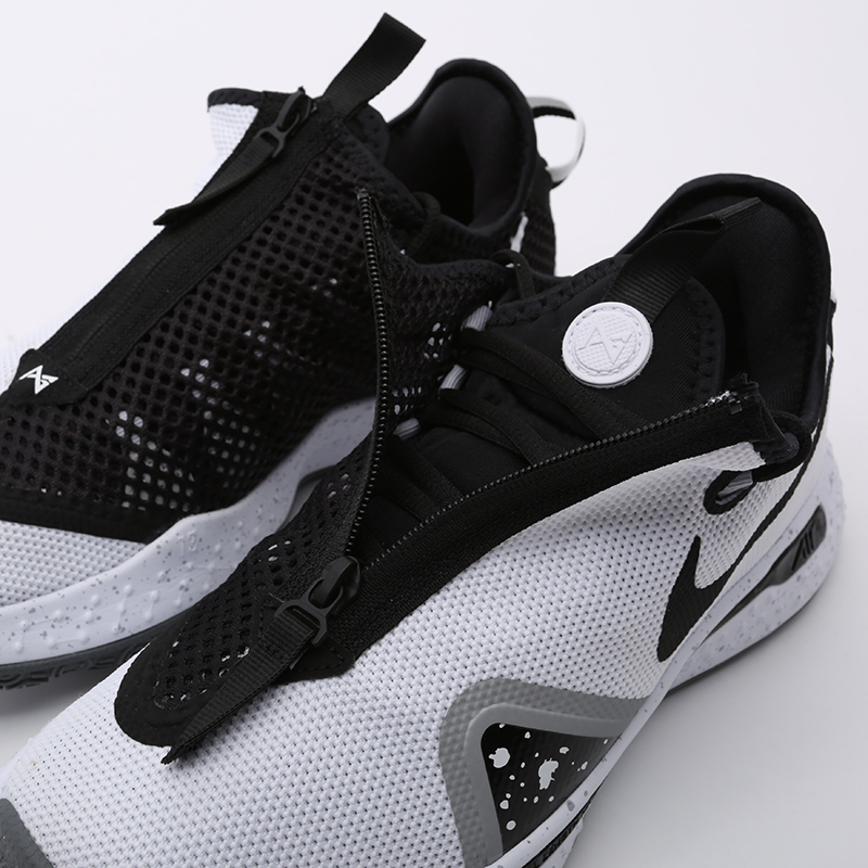 мужские белые  кроссовки nike pg 4 CD5079-100 - цена, описание, фото 6