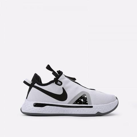 мужские белые  кроссовки nike pg 4 CD5079-100 - цена, описание, фото 1
