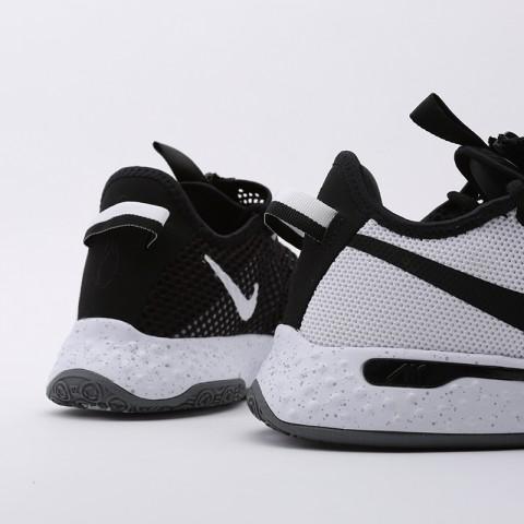 мужские белые  кроссовки nike pg 4 CD5079-100 - цена, описание, фото 4