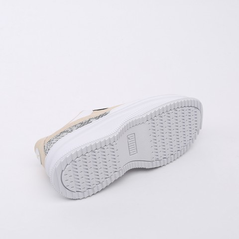 женские бежевые  кроссовки puma deva reptile wn's 37119802 - цена, описание, фото 3