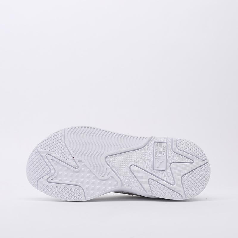 белые  кроссовки puma rs-x3 puzzle 37157003 - цена, описание, фото 2