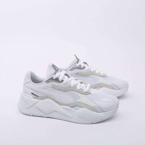 белые  кроссовки puma rs-x3 puzzle 37157003 - цена, описание, фото 3