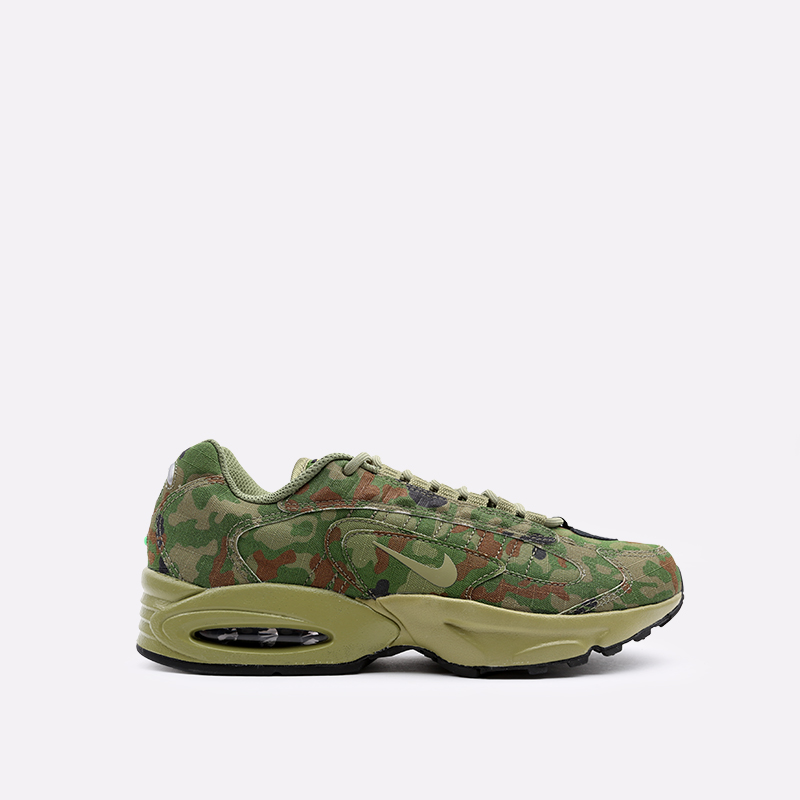 мужские зелёные  кроссовки nike air max triax 96 sp CT5543-300 - цена, описание, фото 1