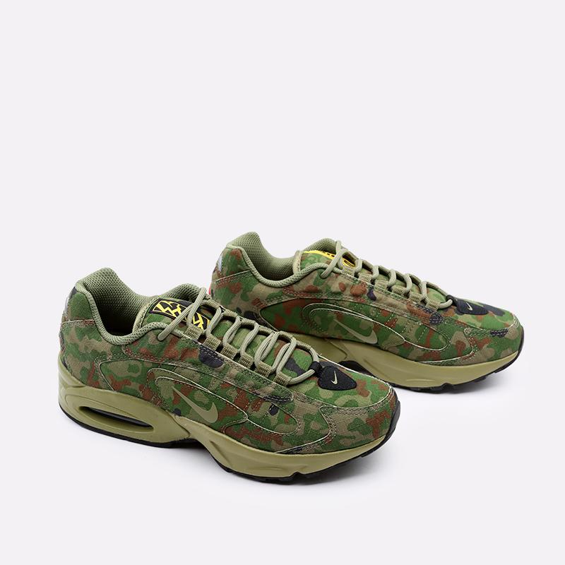 мужские зелёные  кроссовки nike air max triax 96 sp CT5543-300 - цена, описание, фото 2
