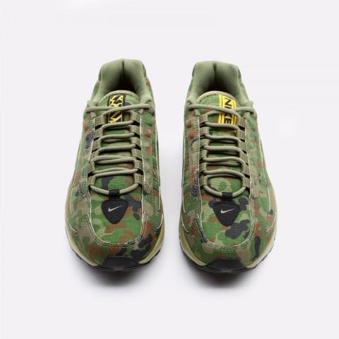 мужские зелёные  кроссовки nike air max triax 96 sp CT5543-300 - цена, описание, фото 4