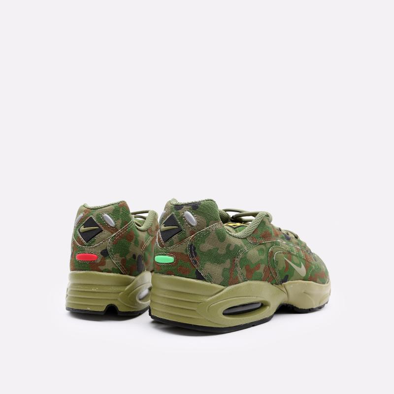 мужские зелёные  кроссовки nike air max triax 96 sp CT5543-300 - цена, описание, фото 3