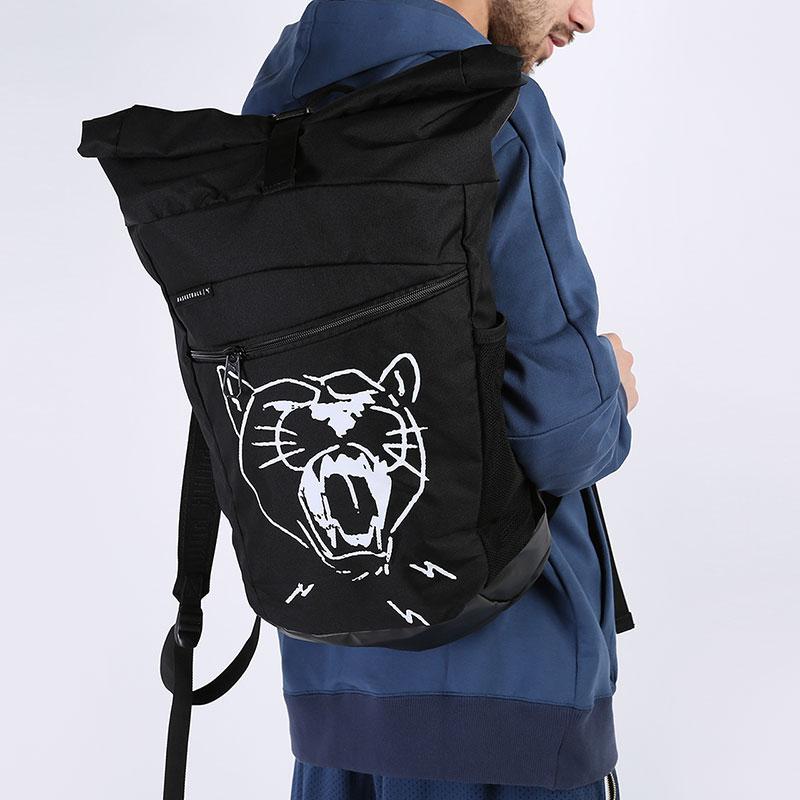 черный  рюкзак puma basketball backpack 7767101 - цена, описание, фото 1