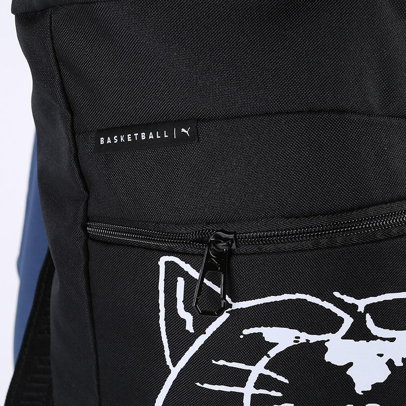черный  рюкзак puma basketball backpack 7767101 - цена, описание, фото 2