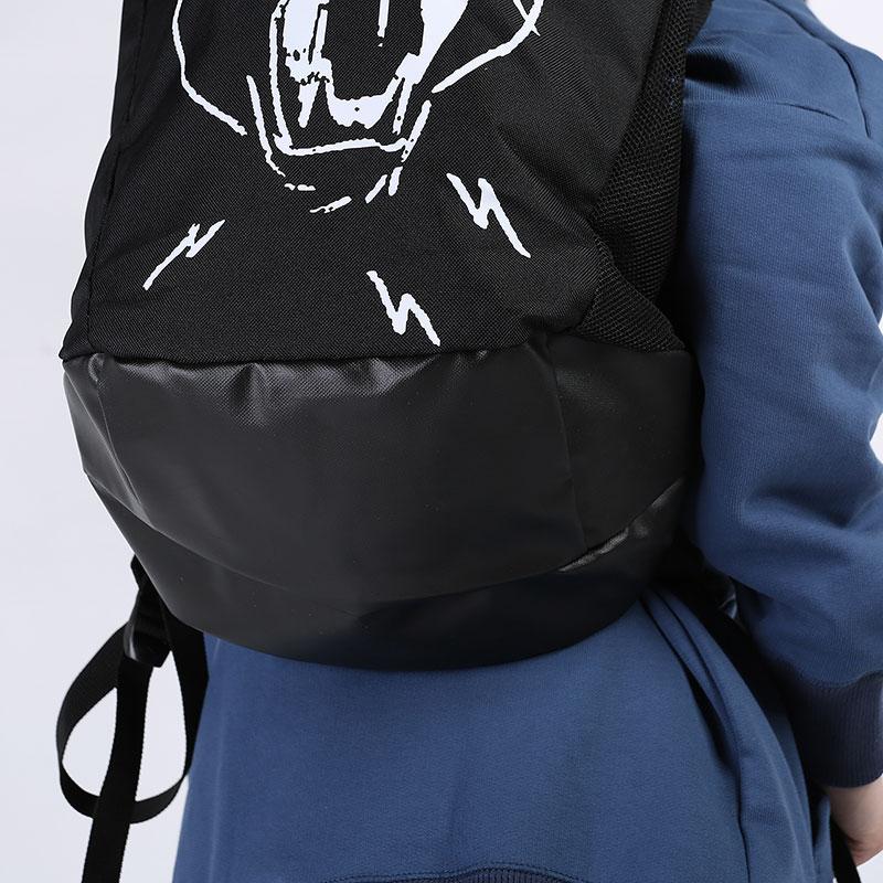черный  рюкзак puma basketball backpack 7767101 - цена, описание, фото 3