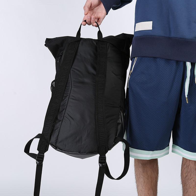 черный  рюкзак puma basketball backpack 7767101 - цена, описание, фото 5