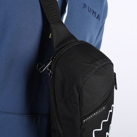 черную  сумка puma basketball cross bag 7767201 - цена, описание, фото 3
