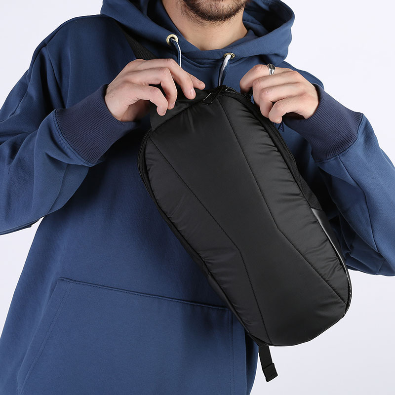 черную  сумка puma basketball cross bag 7767201 - цена, описание, фото 4