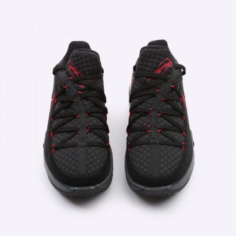 мужские чёрные  кроссовки nike lebron xvii low CD5007-001 - цена, описание, фото 5