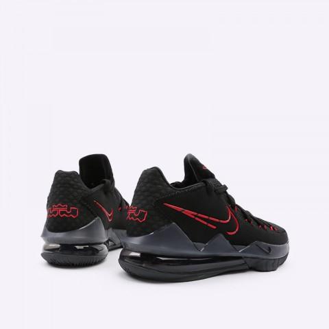 мужские чёрные  кроссовки nike lebron xvii low CD5007-001 - цена, описание, фото 3