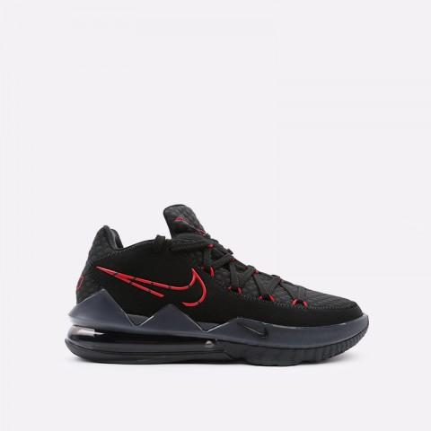 мужские чёрные  кроссовки nike lebron xvii low CD5007-001 - цена, описание, фото 1