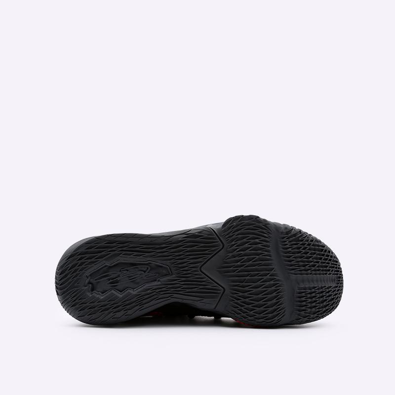 мужские чёрные  кроссовки nike lebron xvii low CD5007-001 - цена, описание, фото 4