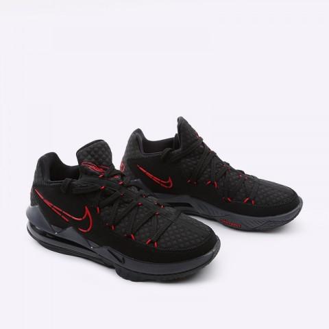мужские чёрные  кроссовки nike lebron xvii low CD5007-001 - цена, описание, фото 2