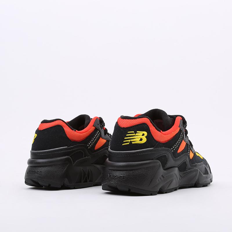 мужские чёрные, красные, жёлтые  кроссовки new balance 850 ML850KL2/D - цена, описание, фото 3