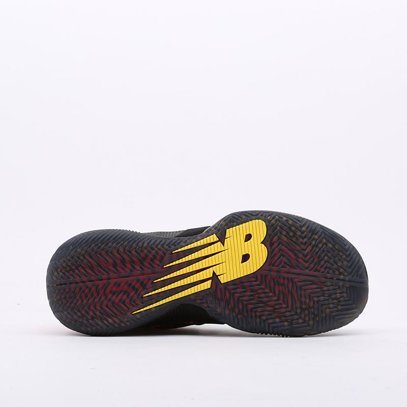 мужские чёрные, оранжевые  кроссовки new balance omn1s sundown BBOMNXA1/D - цена, описание, фото 3