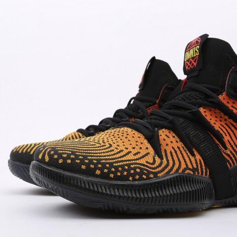 мужские чёрные, оранжевые  кроссовки new balance omn1s sundown BBOMNXA1/D - цена, описание, фото 5