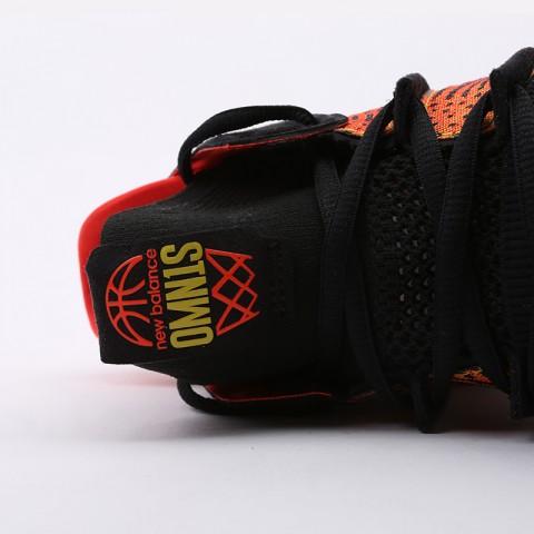 мужские чёрные, оранжевые  кроссовки new balance omn1s sundown BBOMNXA1/D - цена, описание, фото 6