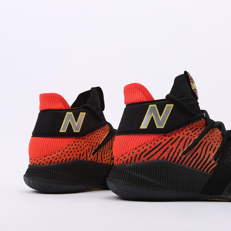 мужские чёрные, оранжевые  кроссовки new balance omn1s sundown BBOMNXA1/D - цена, описание, фото 7