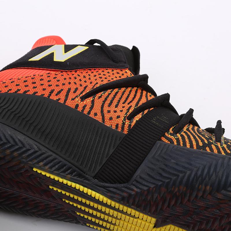 мужские чёрные, оранжевые  кроссовки new balance omn1s sundown BBOMNXA1/D - цена, описание, фото 8