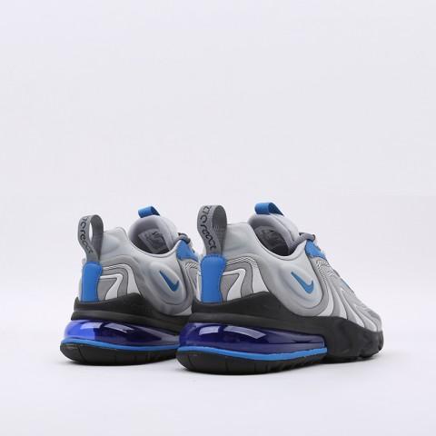 мужские серые  кроссовки nike air max 270 react eng CJ0579-001 - цена, описание, фото 4