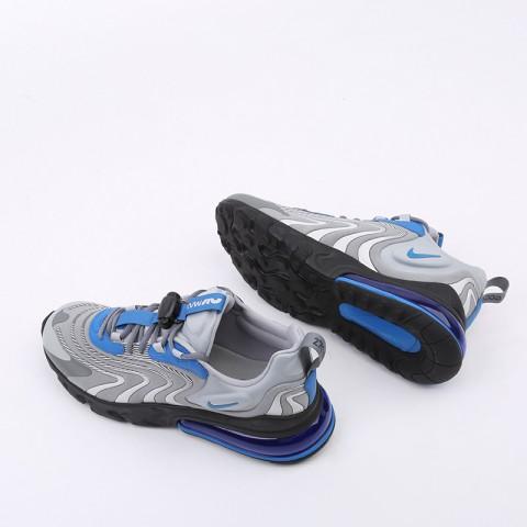 мужские серые  кроссовки nike air max 270 react eng CJ0579-001 - цена, описание, фото 3