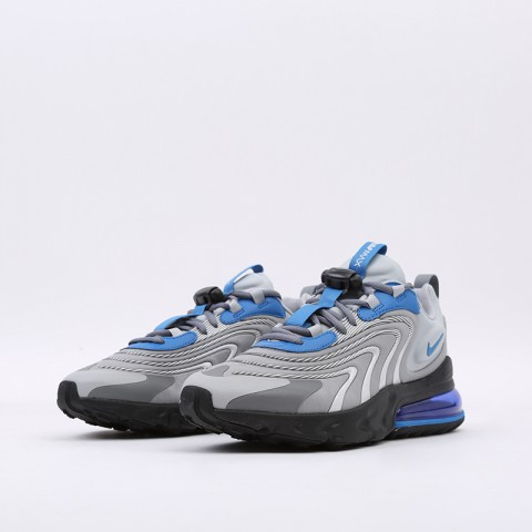 мужские серые  кроссовки nike air max 270 react eng CJ0579-001 - цена, описание, фото 5