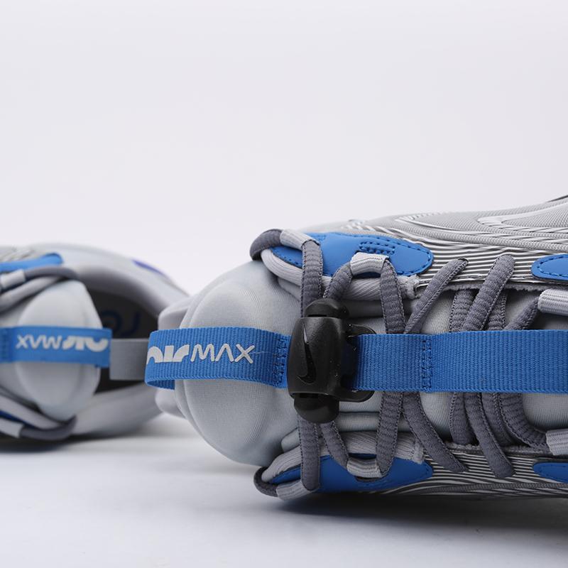 мужские серые  кроссовки nike air max 270 react eng CJ0579-001 - цена, описание, фото 6