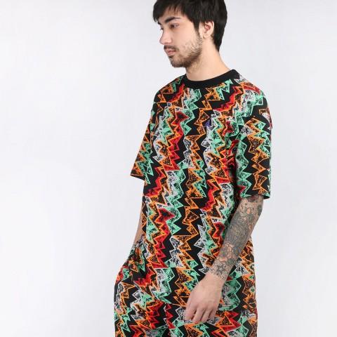 мужскую разноцветную  футболка jordan qs t-shirt CW0911-010 - цена, описание, фото 1