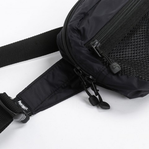 черную  сумка stussy light weight waist bag 134210-black - цена, описание, фото 3