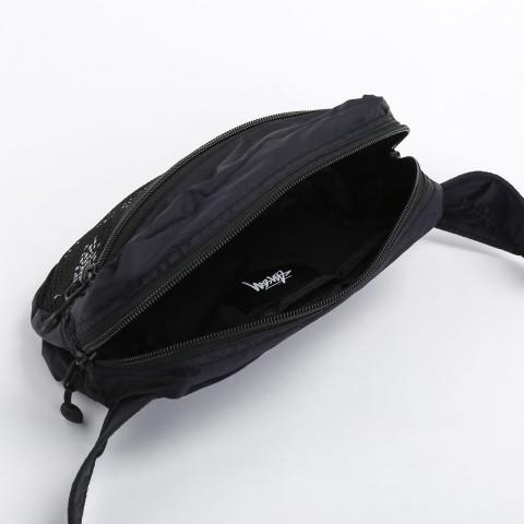 черную  сумка stussy light weight waist bag 134210-black - цена, описание, фото 4