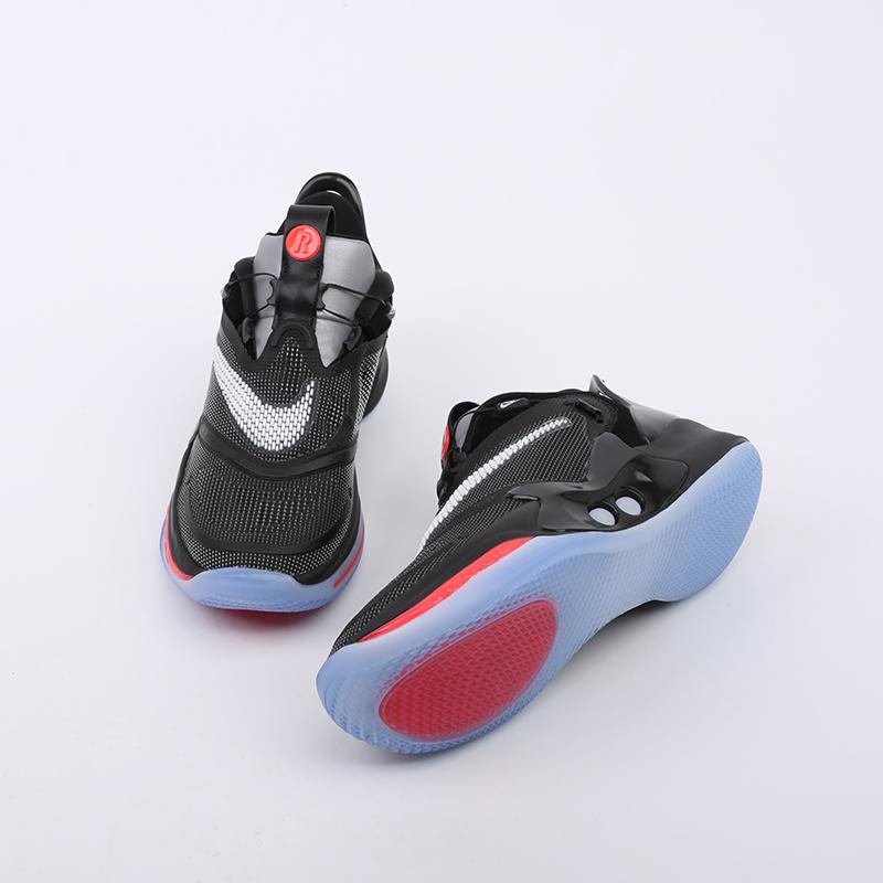 мужские чёрные  кроссовки nike adapt bb 2.0 eu CV2441-001 - цена, описание, фото 4