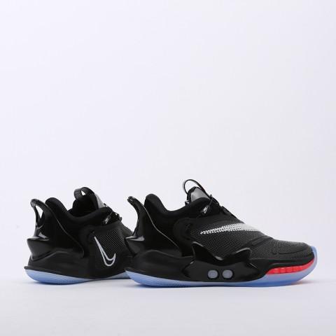 мужские чёрные  кроссовки nike adapt bb 2.0 eu CV2441-001 - цена, описание, фото 2