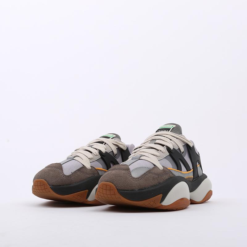 серые  кроссовки puma alteration nu rhude 37139001 - цена, описание, фото 6
