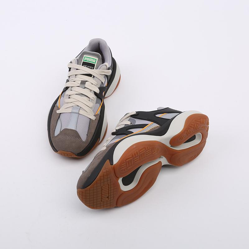 серые  кроссовки puma alteration nu rhude 37139001 - цена, описание, фото 3