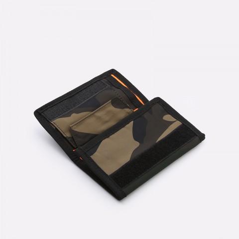 камуфляж  бумажник carhartt wip ashton wallet i025408-camo laurel - цена, описание, фото 5