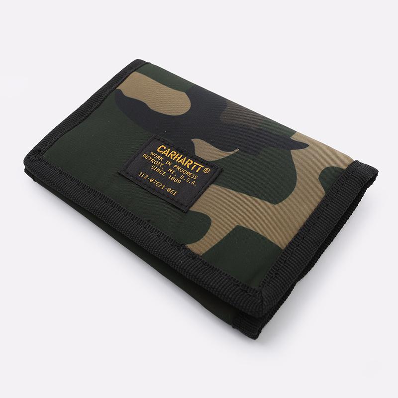 камуфляж  бумажник carhartt wip ashton wallet i025408-camo laurel - цена, описание, фото 2
