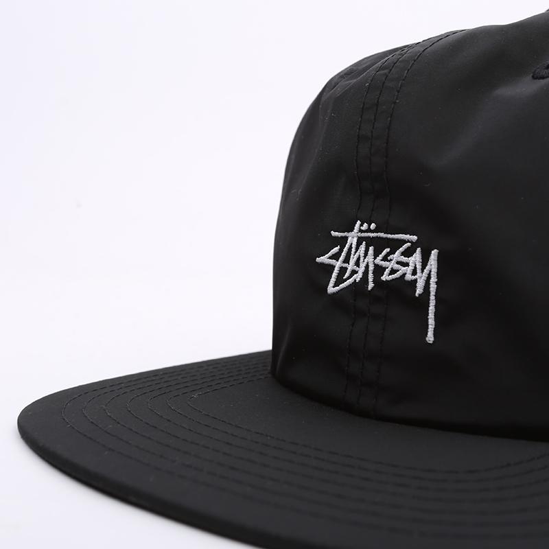 чёрную  кепка stussy strapback cap 131939-black - цена, описание, фото 2