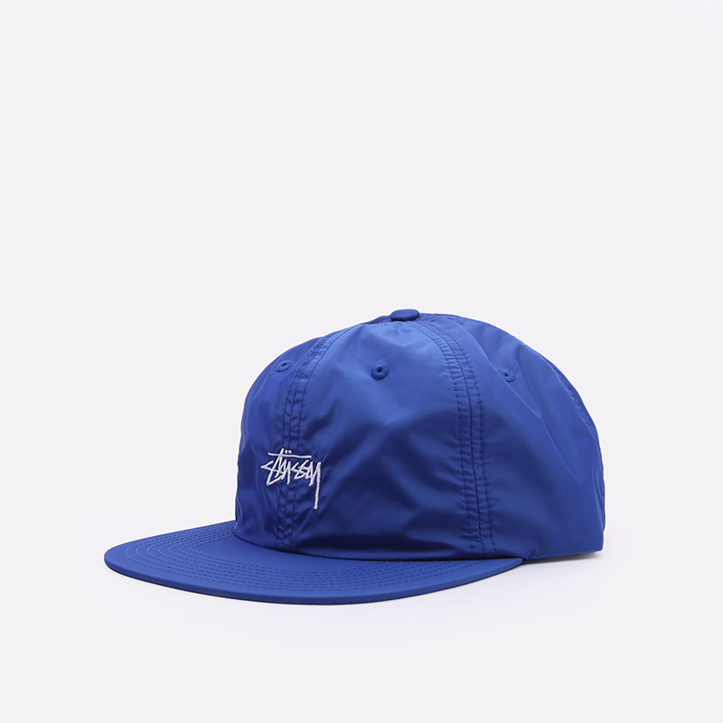 синюю  кепка stussy strapback cap 131939-blue - цена, описание, фото 1